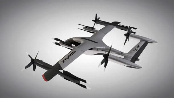 उबरसँग मिलेर हुण्डाईले बनाएको नयाँ ईलेक्ट्रिक एयर ट्याक्सी यस्तो छ, १०० किमीसम्म उड्ने