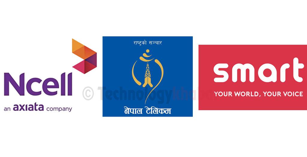 एनसेल र स्मार्टको सक्रिय ग्राहकसंख्या घट्यो, नेपाल टेलिकमका ग्राहक बढेसँगै बजारहिस्सा सुधार
