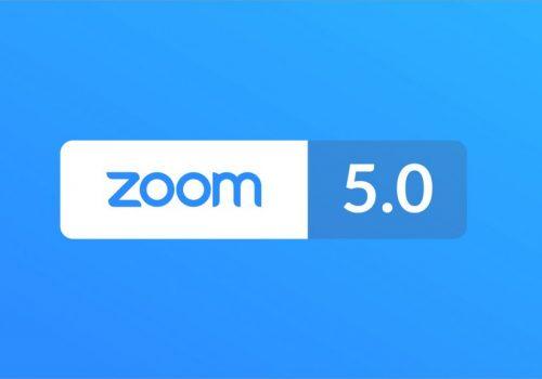 भिडियो कन्फ्रेन्सिङ्ग एप जूमको अपडेट 'जूम ५.०' आयो, प्राइभेसी र सेक्यूरिटीका लागि नयाँ फीचर