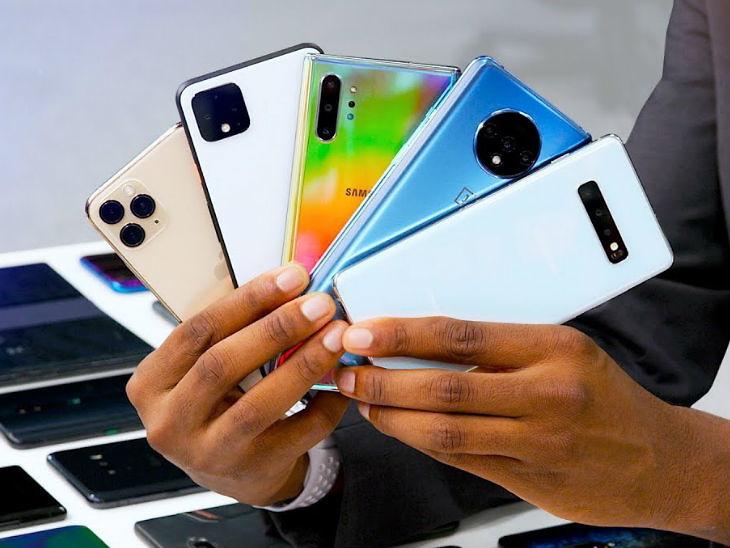 स्मार्टफोनको विश्वव्यापी शिपमेन्ट २०२१ को पहिलो तीन महिनामा ५० प्रतिशतले बढ्ने