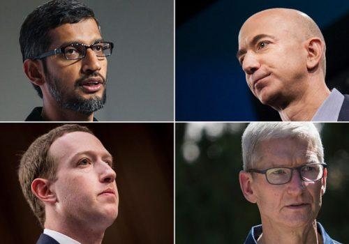 विश्वका चार ठूला टेक कम्पनीका प्रमुख कार्यकारी अधिकृतहरु संसदिय सुनुवाईमा
