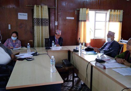 नेपाल टेलिकमको फोरजी बिस्तारमा भएको ढिलाइ बारे कारण पेश गर्न समितिको निर्देशन