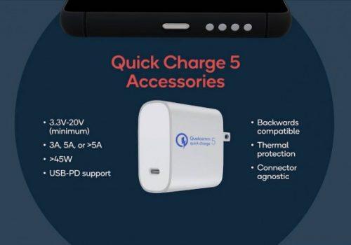 क्वालकमले १००वाट फास्ट चार्जको लागि क्विक चार्ज ५ ल्यायो, एन्ड्रोइड डिभाइसमा प्रयोग हुने