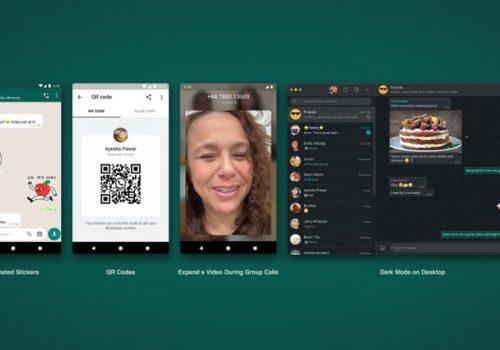 ह्वाट्सएपमा अब एनिमेटेड स्टिकर, क्यूआर कोड र वेब भर्सनका लागि डार्क मोड उपलब्ध