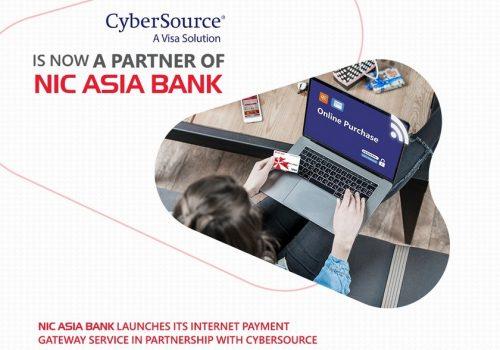 एनआइसी एशिया बैंकद्धारा कार्डमा आधारित अनलाइन भुक्तानी गेटवे शुरु