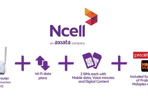 Ncell Axiata launches Wirefree+, an attractive bundle of Wi-Fi service, talk time and data