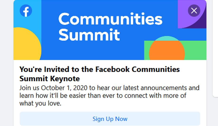 फेसबुकले बिहिबार कम्युनिटी समिट आयोजना गर्दै, नयाँ मापदण्ड र नियम घोषणा गर्नसक्ने