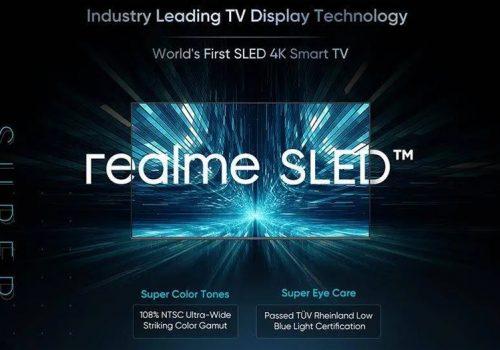 रियलमीद्धारा विश्वको पहिलो एसएलईडी स्मार्ट टिभी घोषणा, के हो एसएलईडी प्रविधि हेर्नुस्