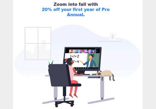 जूमको प्रो एनुअल सेवामा २० प्रतिशत छुट, निशुल्क ग्राहकलाई सशुल्क बनाउने अभियान