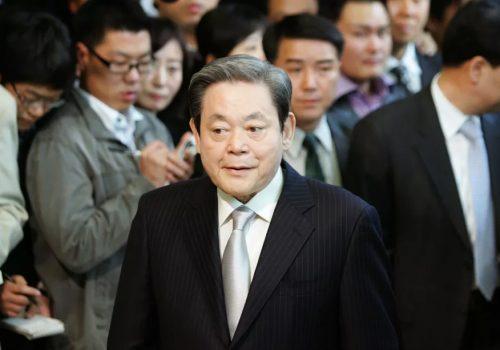सामसङका अध्यक्ष ली कुन हीको ७८ वर्ष उमेरमा निधन