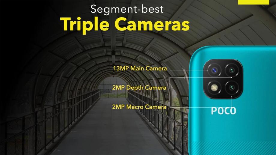 पोकोको नयाँ स्मार्टफोन पोको सी३ लन्च, ५,००० एमएएचको ब्याट्री र निकै सस्तो बजार मूल्य
