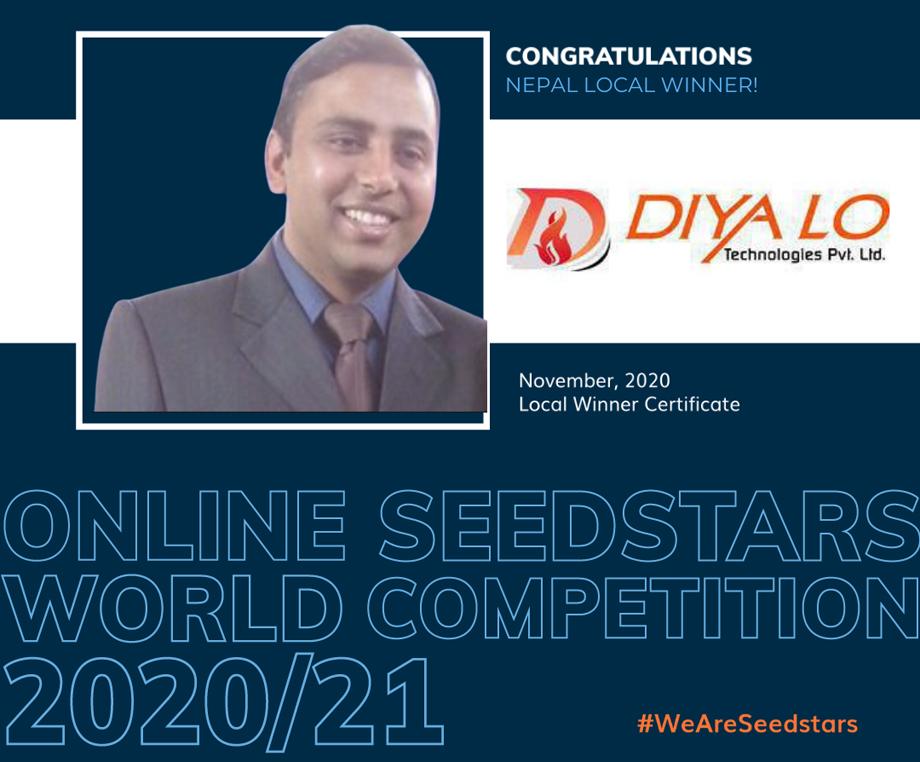 'सिड स्टार्स वर्ल्ड' प्रतिस्पर्धामा नेपालबाट दियालो टेक्नोलोजीज विजयी