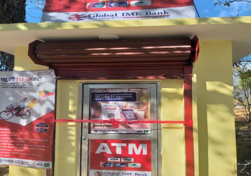 ग्लोबल आइएमई बैंकको एटिएम सेवा लिवाङ्गको आर्मी व्यारेक परिसरमा