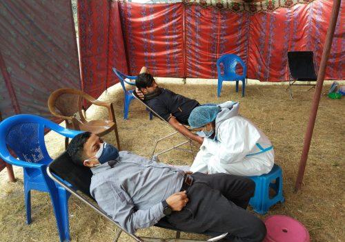 सानिमा बैंकद्वारा रक्तदान कार्यक्रमको आयोजना