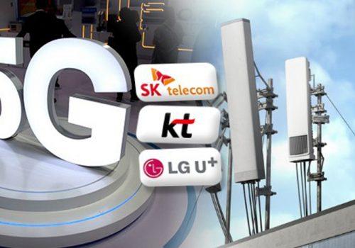 दक्षिण कोरियाको फाइभजी नेटवर्क स्पीड ६९१ एमबीपीएस प्रति सेकेन्ड