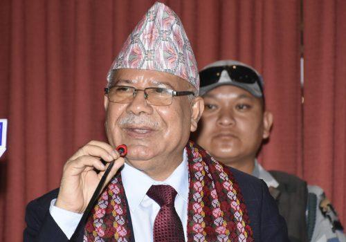 नवप्रवर्तन उद्योगलाई प्राथमिकता नदिँदा आर्थिक विकासको गति कमजोरः माधव नेपाल