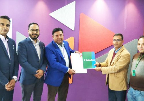 Sanima Bank signs agreement with Ncell, customers to get free SIM card and Data pack