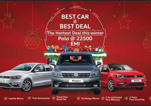 "Volkswagen introduce ""BEST CAR @BEST DEAL-The Hottest Deal This winter"" scheme"