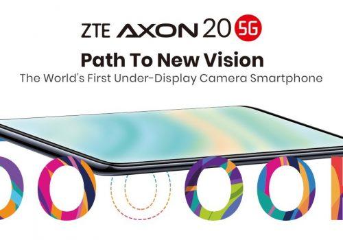 पहिलो अण्डरडिस्प्ले क्यामरा स्मार्टफोन जेडटिई एक्जोन २० फाईभजी विश्व बजारमा उपलब्ध