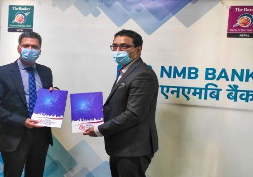 एनएमबि बैंक 'कर्पोरेट पे' प्रणालीमा जोडियो, नेपाल क्लियरीङ्ग हाउससँग सम्झौता
