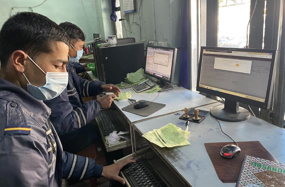 ट्राफिक प्रहरीको अनलाइन सेवा थप २ वटा ट्राफिक कार्यालयमा विस्तार