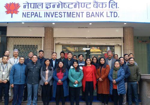 नेपाल इन्भेष्टमेण्ट बैंकको सिटी एक्सप्रेस फाइनान्ससँग एकिकृत कारोबार सुरु