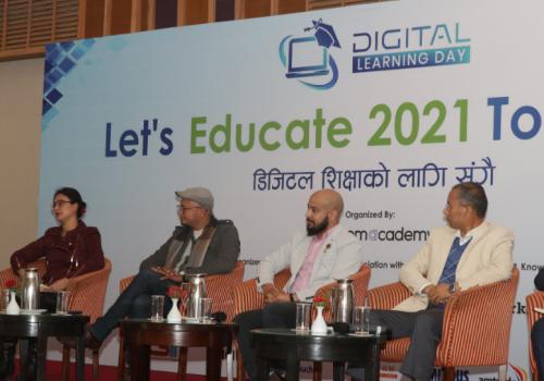 डिजिटल लर्निङ डेको अवसरमा 'डिजिटल शिक्षाका लागि सँगै' कार्यक्रम सम्पन्न