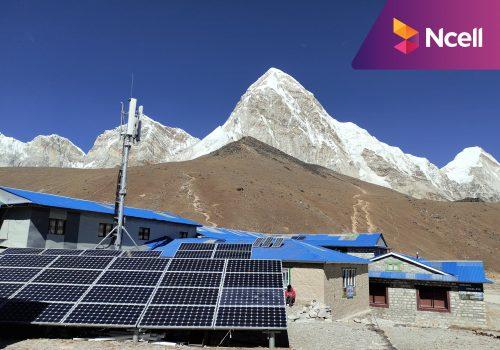 एनसेलको सेवा सगरमाथा आधार शिविरमा पनि उपलब्ध, नेटवर्क मर्मतसम्भार गरी सञ्चालनमा