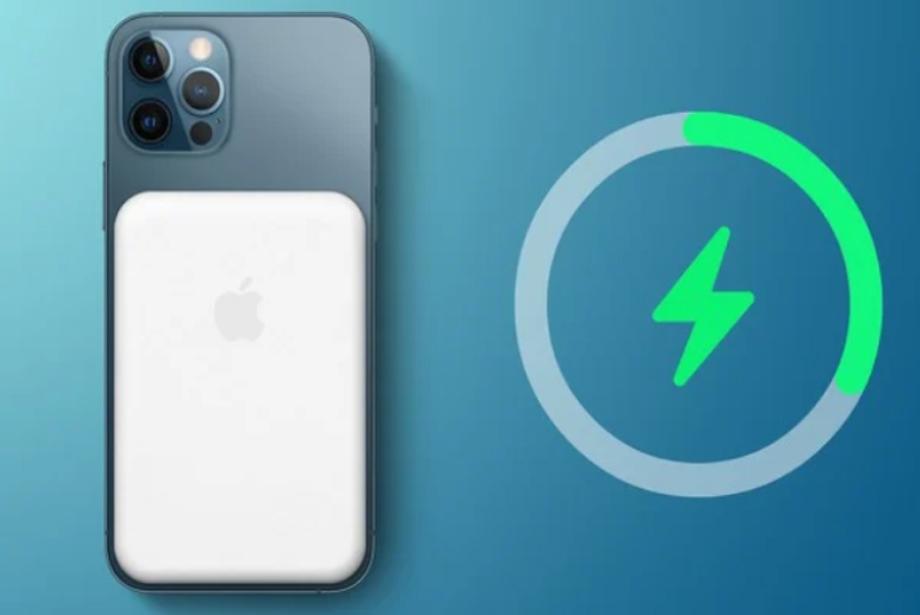 म्याग्नेटिक अट्याचमेन्ट ब्याट्री प्याकमा काम गर्दै एप्पल, आईफोनलाई वायरलेस चार्ज गर्ने