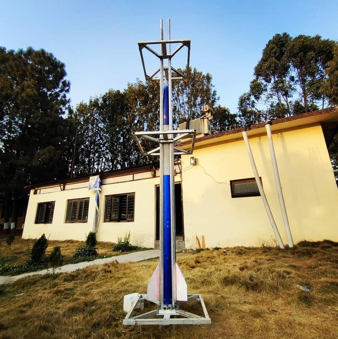 पहिलो नेपाली रकेटको परीक्षण असफल, हावामा उडेको करिब १५ सेकेण्डमै तल झर्यो