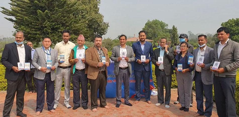 माछापुच्छ्रे बैंकको क्यूआर कोड र वीच्याट पे सेवा लुम्बिनीमा उपलब्ध
