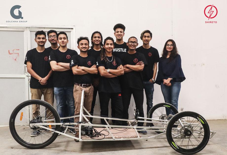 इलेक्ट्रिकल भेइकल बनाउन नेपाली विद्यार्थीलाई गोल्छा ग्रुपको सहयोग