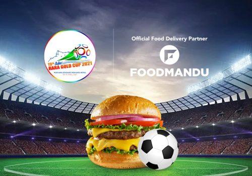 Foodmandu Official Food Delivery Partner of Aahaa Rara Gold Cup