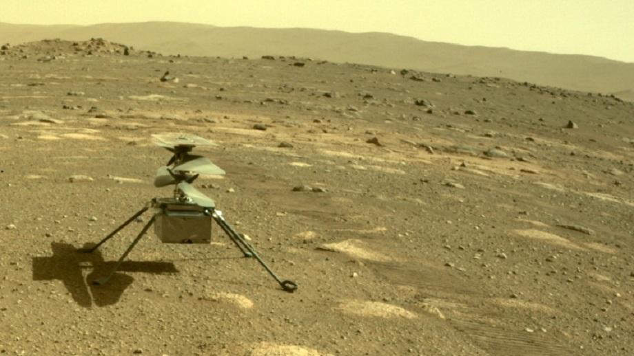 इन्जेनुइटी हेलिकप्टरले उडनु अघि मंगल ग्रहका अझै केही चिसा रातहरु काट्नुपर्ने