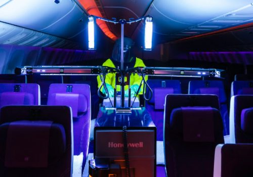 Qatar Airways Introduces new Version of Honeywell's Ultraviolet Cabin Disinfection Technology On Board