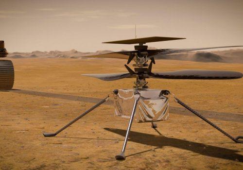 मंगल ग्रहमा रहेको नासाको इन्जेनुइटी हेलिकप्टरले अप्रिल ११ मा मात्र उडान भर्ने