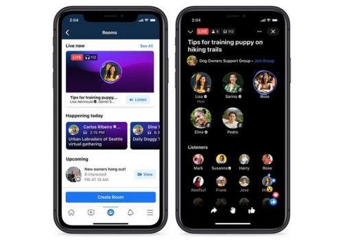 फेसबुकले क्लबहाउसजस्तै फिचर भएको अडियो सेवा साउन्डबाइट्स ल्याउने