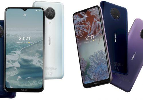 नोकियाको एक्स, सी र जी सिरिज स्मार्टफोन सार्वजनिक