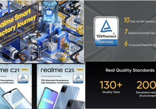 Together with TÜV Rheinland, realme sets a new smartphone quality standard