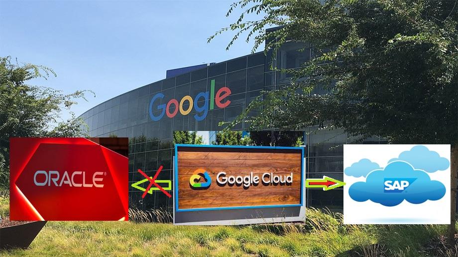 गुगलले आफ्ना वित्तीय कारोबार ओरेकलबाट एसएपीमा सार्ने