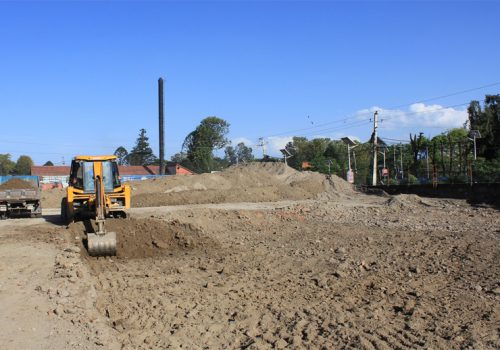एनसेलले लैनचाैरमा खेल मैदान सहितको हरित उद्यान निर्माण गर्दै