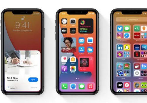 आईफोनका ९० प्रतिशत मोडलमा आईओएस १४: प्रतिवेदन
