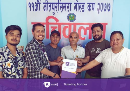 11th Jeetpur Simara Gold Cup ticket from Khalti App, 100% Cashback available