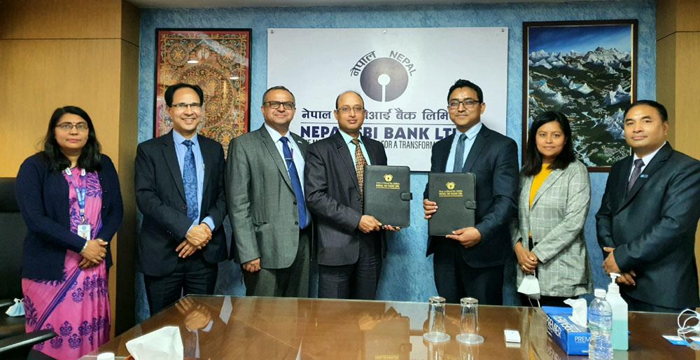 नेपाल एसबिआई बैंक अब कर्पोरेट पे प्रणालीमा आबद्ध