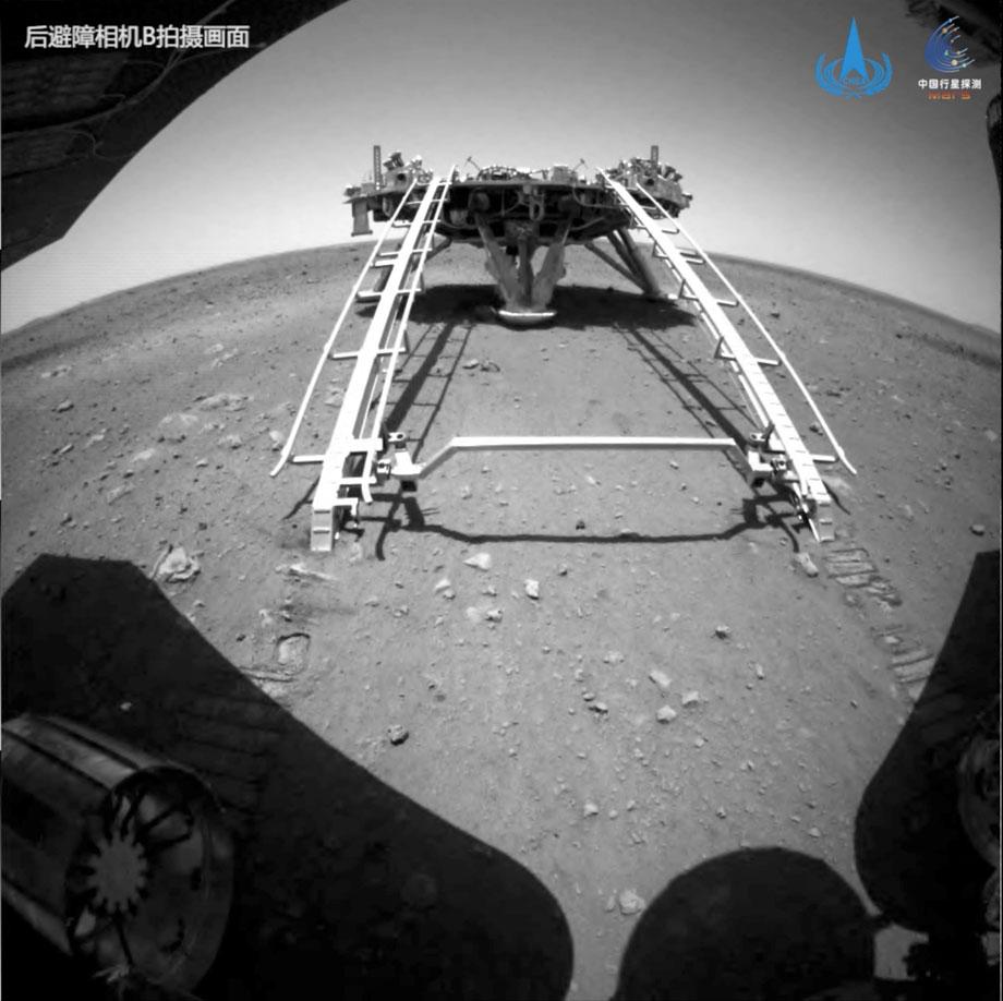 मंगल ग्रहमा रोभर सफलतापूर्वक परिचालन गर्ने दोस्रो देश बन्यो चीन
