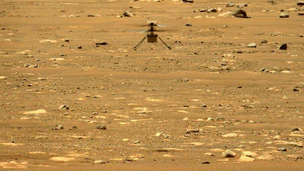 नासाद्धारा मंगल ग्रहमा रहेको ड्रोन हेलिकप्टर अभियान बिस्तारको घोषणा