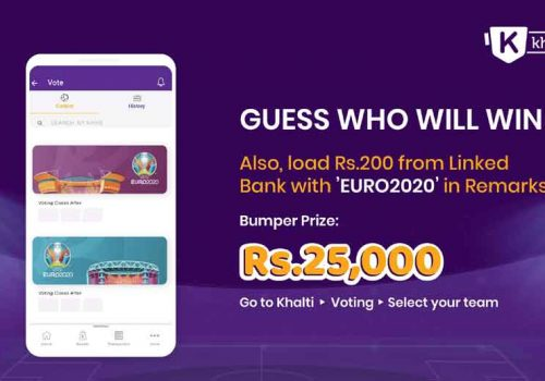 Khalti launches Predict and Win campaign with a new Twist; Cash Prize Rs. 25000