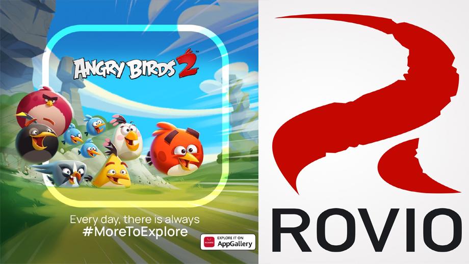 ह्वावे र रोभियोको साझेदारीमा एङ्ग्री बर्ड्स २ एप ग्यालरीमा उपलब्ध