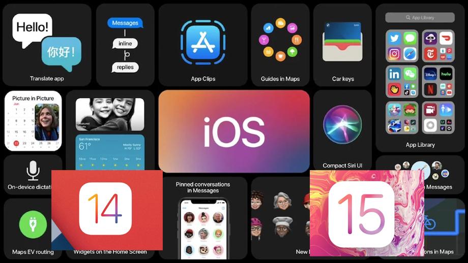 एप्पलले आईओएस १५ सार्वजनिक भएपछि पनि आईओएस १४ लाई जारी राख्ने