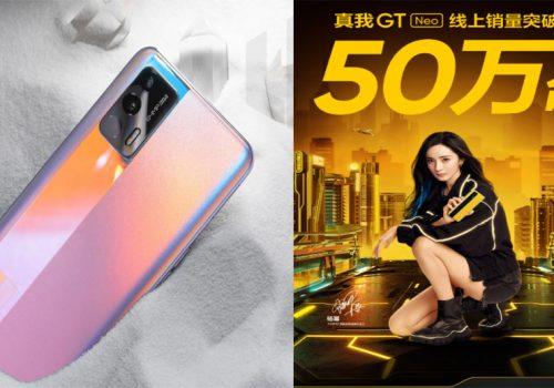 रियलमी जीटी नियोको बिक्री चीनमा पाँच लाख थान नाघ्यो